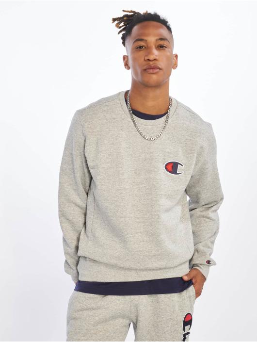 Champion Rochester Пуловер Single Logo серый