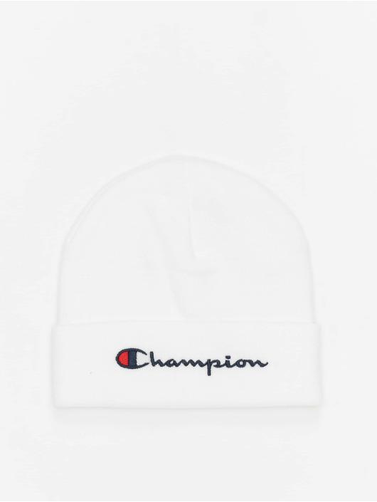 Champion Rochester Beanie Big Logo weiß