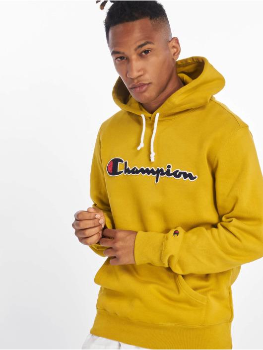 Champion Rochester Bluzy z kapturem Patch zólty