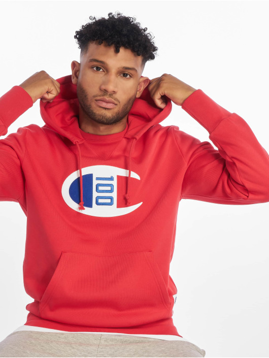 Champion Rochester Hoodie Rochester red