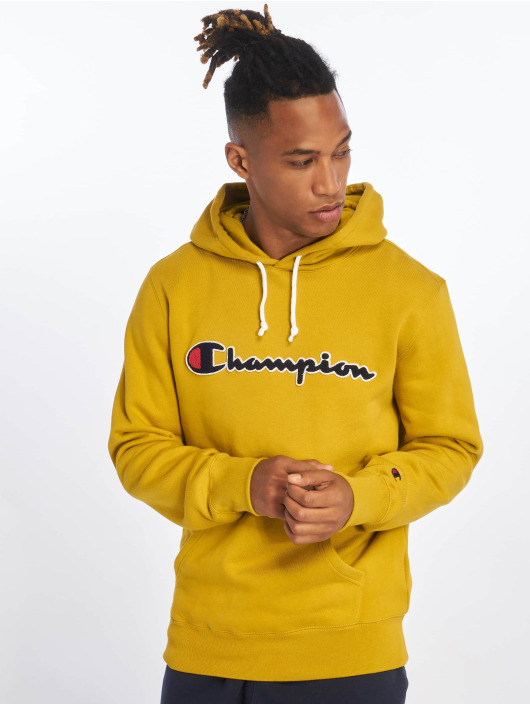 Champion Rochester Hoody Patch geel