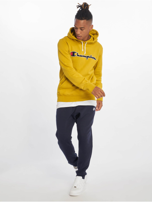 Champion Rochester Hoody Patch gelb