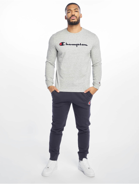 Champion Rochester Longsleeve Logo grey