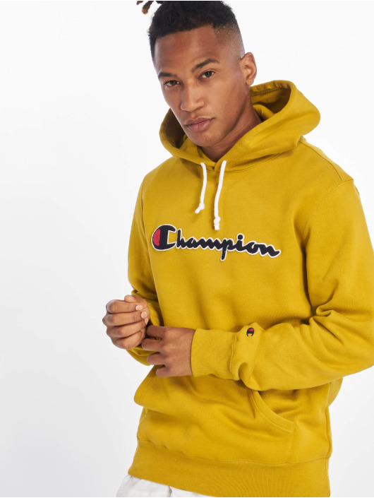 Champion Rochester Mikiny Patch žltá