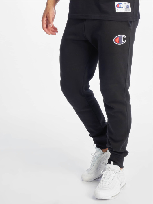Champion Rochester Pantalón deportivo Rib Cuff negro