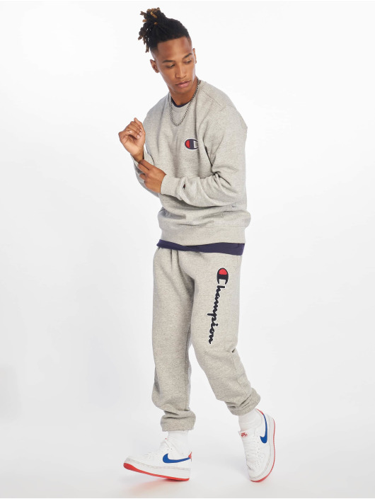 Champion Rochester Pantalone ginnico Rib Cuff grigio
