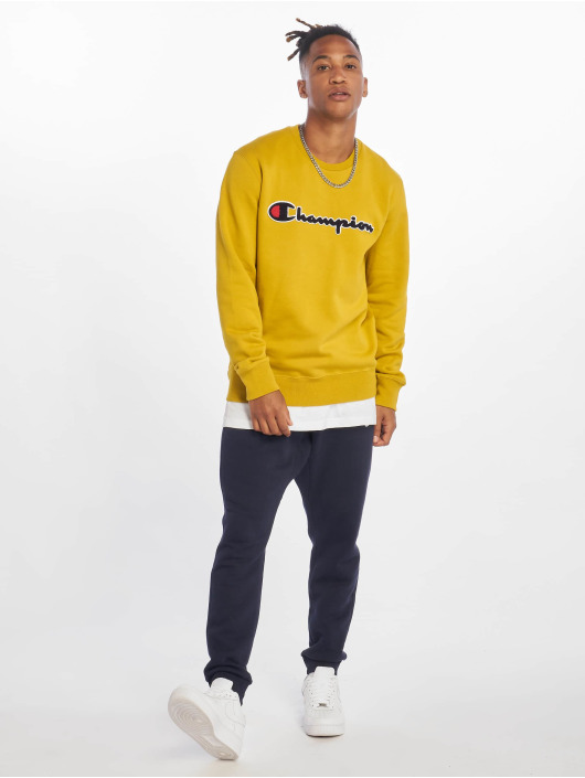 Champion Rochester Pullover Labels gelb