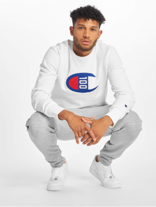 Champion Rochester Pullover One Hundred white