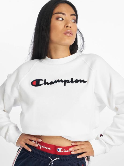 Champion Rochester Pulóvre Patch biela