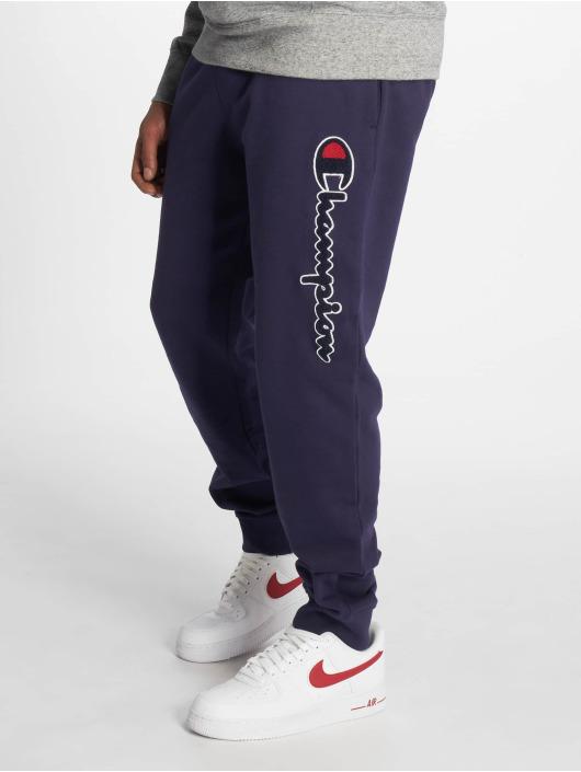 Champion Rochester Spodnie do joggingu Rib Cuff niebieski