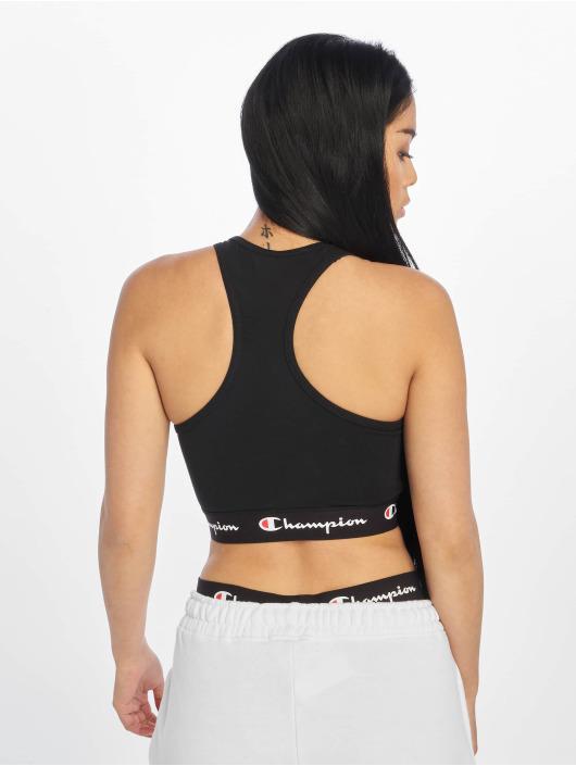 Champion Rochester Sports Bra Labels black