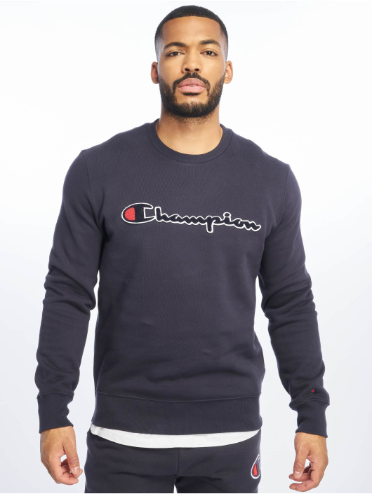 Champion Rochester Sweat & Pull Logo bleu