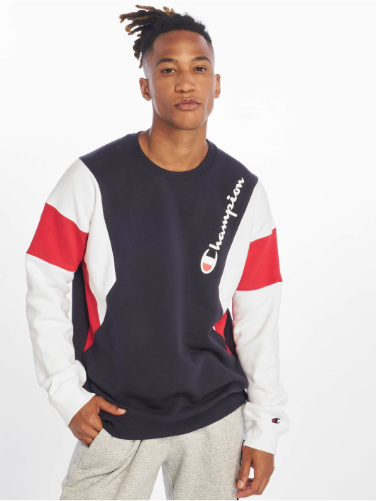 Champion Rochester Sweat & Pull Diagonal bleu