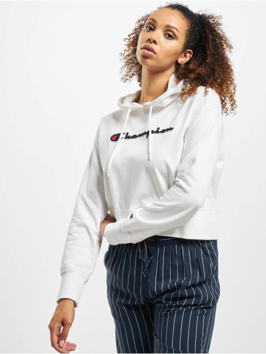 N0mvw8n Femme Capuche Champion Sweat 646054 Rochester Blanc jAq354cRL