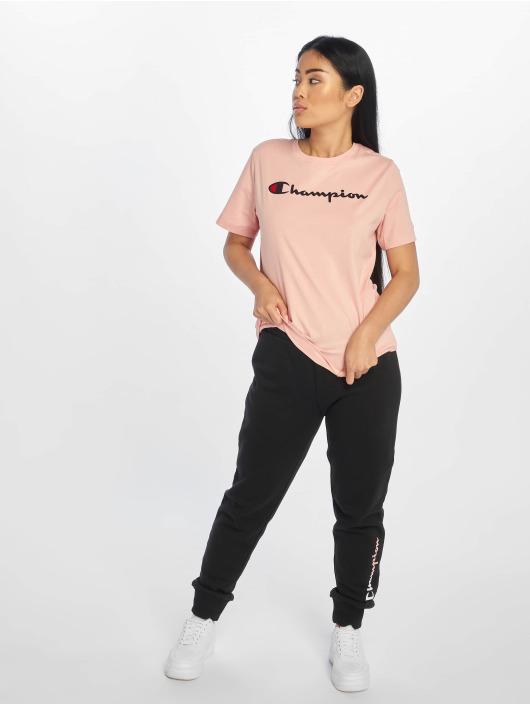 Champion Rochester T-Shirt Logo rose