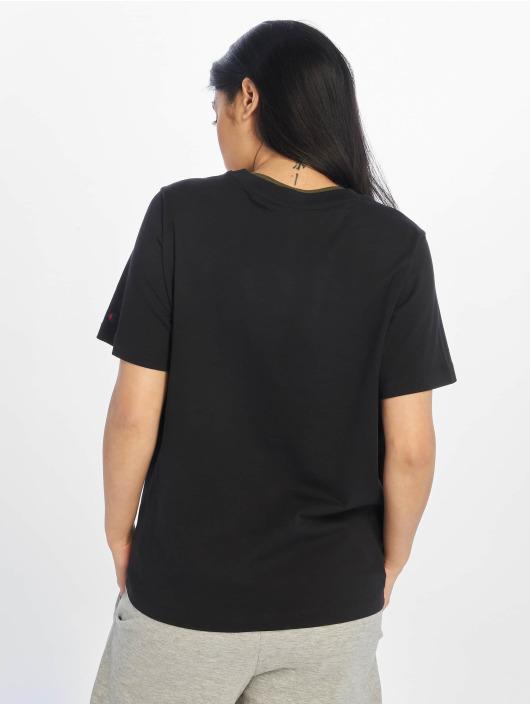 Champion Rochester T-Shirt Logo schwarz