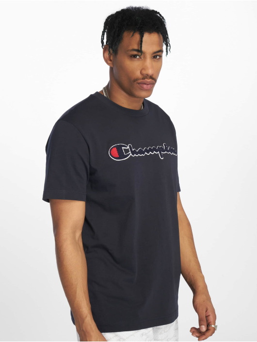 Champion Rochester T-Shirty Crewneck niebieski