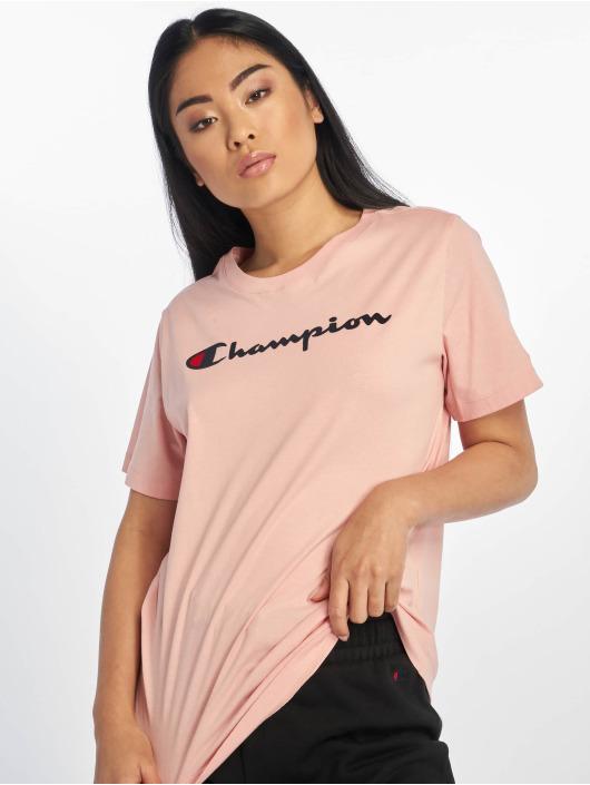Champion Rochester T-skjorter Logo rosa