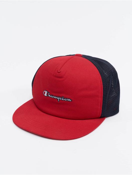 Champion Rochester Truckerkeps Basketball röd