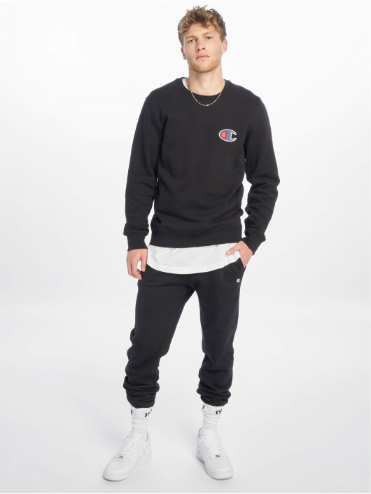 Champion Rochester trui Single Logo zwart