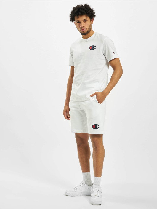 Champion Shorts C-Logo weiß