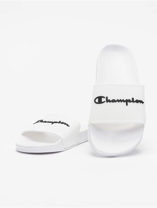 Champion Slipper/Sandaal Legacy Slide wit