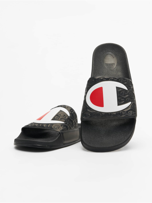 Champion Slipper/Sandaal M-Evo Slides zwart