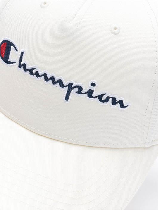 Champion Snapback Caps Basic bialy
