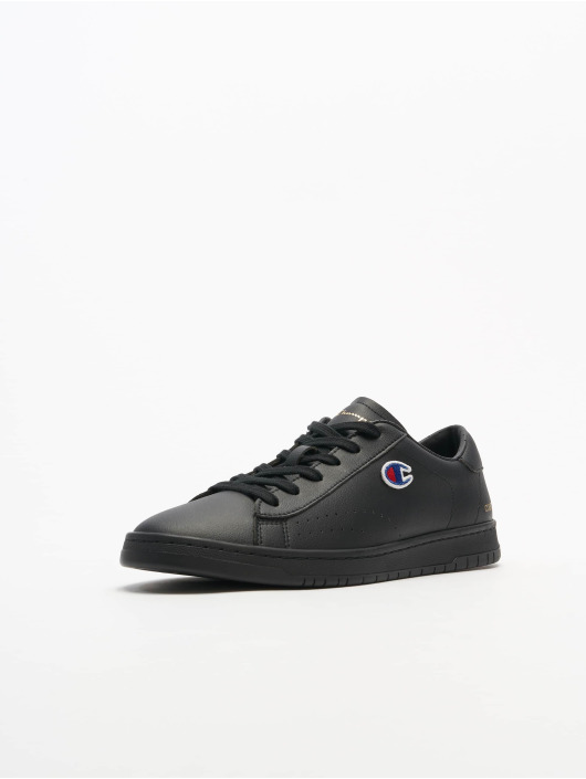 Champion Sneaker Rochester Low Cut Court Club Patch schwarz