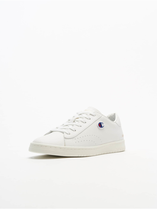 Champion Sneaker Rochester Low Cut Court Club Patch weiß