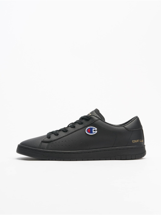 Champion Sneakers Rochester Low Cut Court Club Patch black