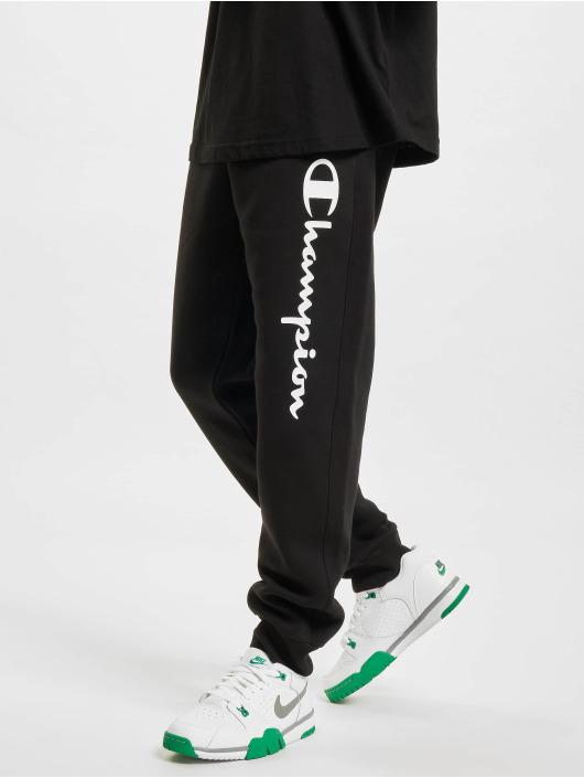 Champion Spodnie do joggingu Logo czarny