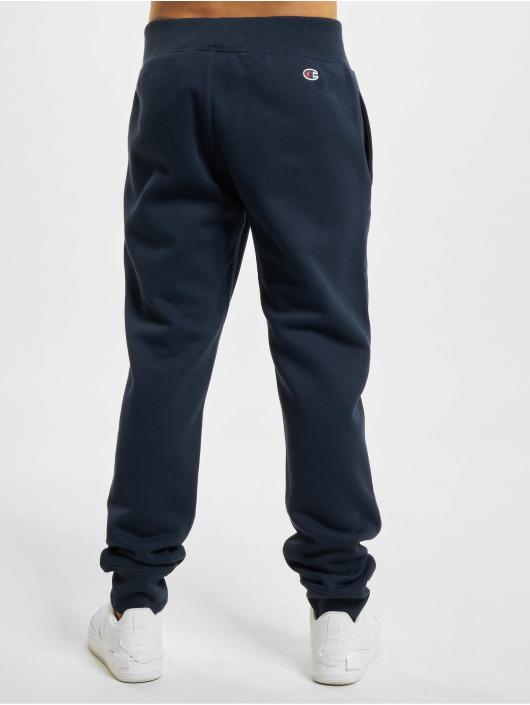 Champion Spodnie do joggingu Logo niebieski