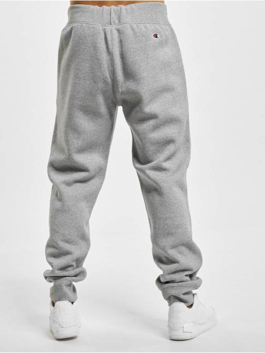 Champion Spodnie do joggingu Logo szary