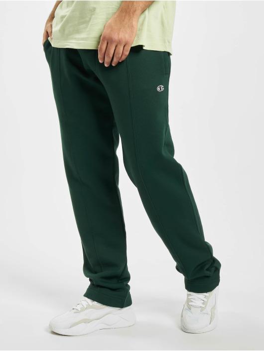 Champion Spodnie do joggingu by Wood Wood Eric Straight Hem zielony