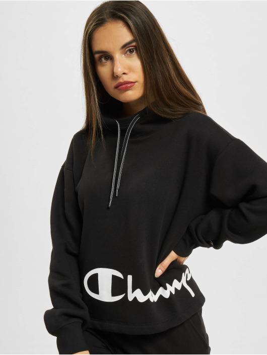 Champion Sweat capuche Oversize noir