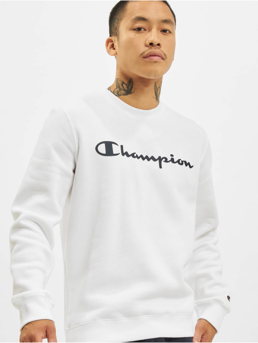 Champion Swetry Logo bialy