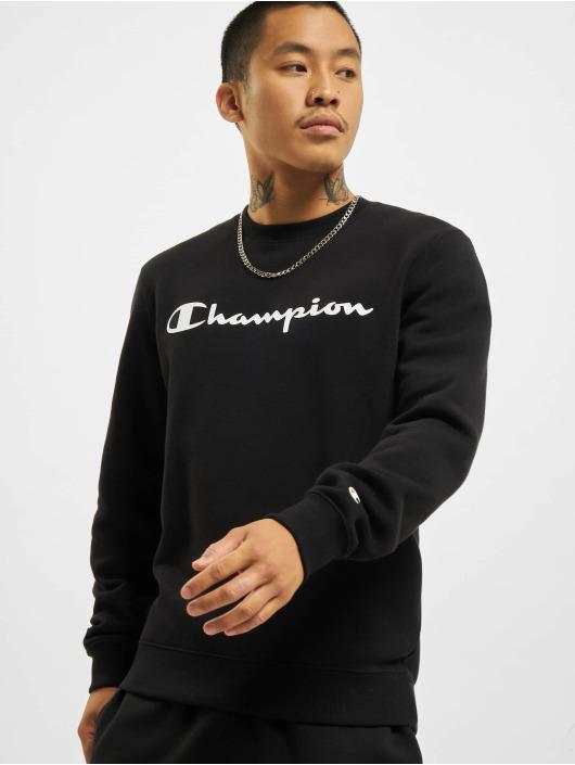 Champion Swetry Logo czarny