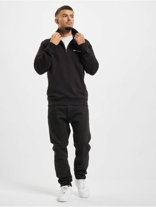 Champion Swetry Half Zip czarny