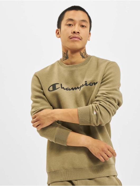 Champion Swetry Logo khaki