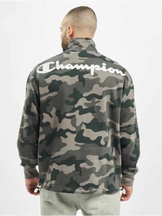 Champion Swetry Half Zip moro