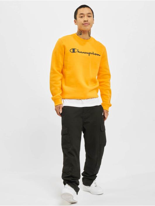 Champion Swetry Logo pomaranczowy