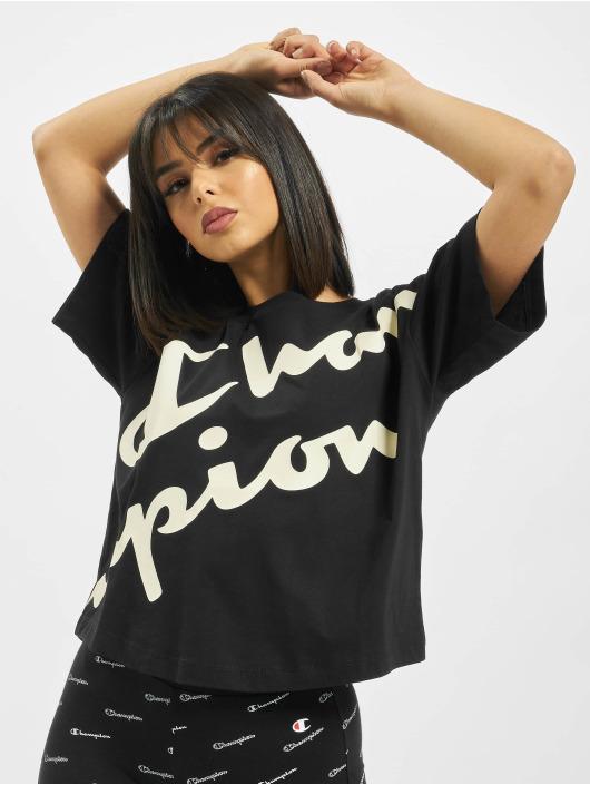 Champion T-Shirt Crop black