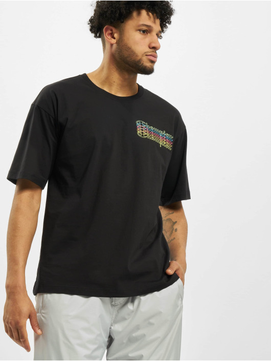 Champion T-Shirt Neon black