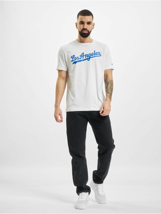 Champion T-Shirt Legacy Los Angeles Dodgers blanc