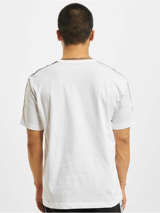 Champion T-Shirt Logo Tape blanc