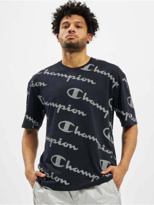 Champion T-Shirt Allover blau
