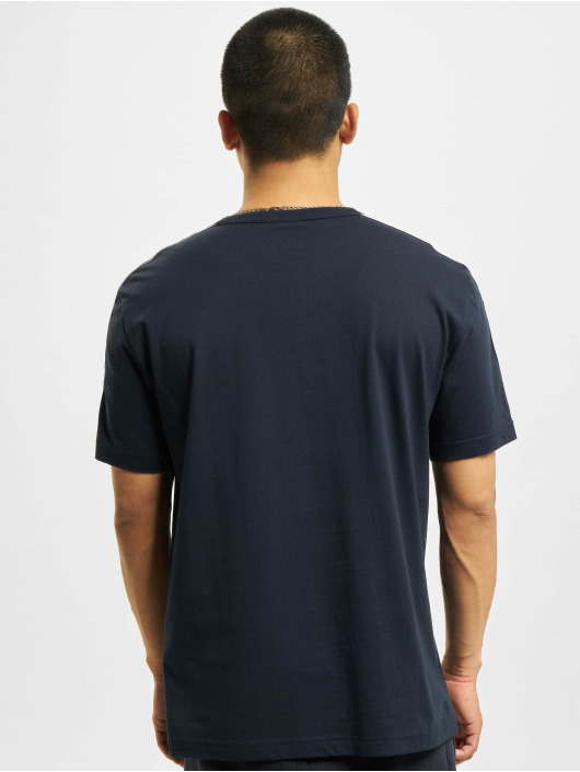 Champion T-Shirt Logo Tape blau