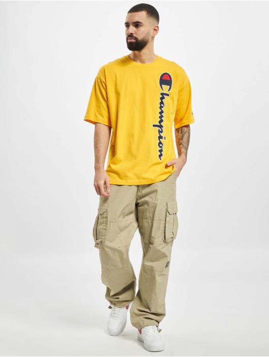 Champion t-shirt Rochester geel