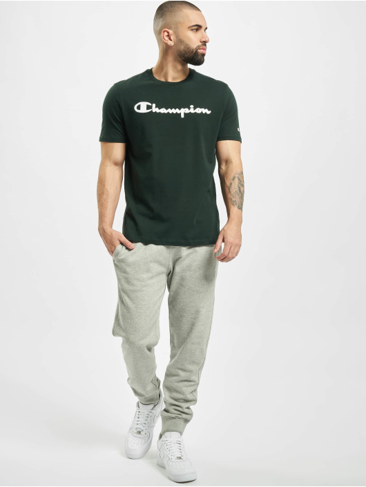 Champion T-Shirt Crewneck green